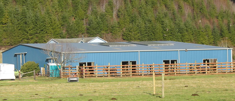 Barn Installation: Walker Farms - Oregon State University Small Farms Programs