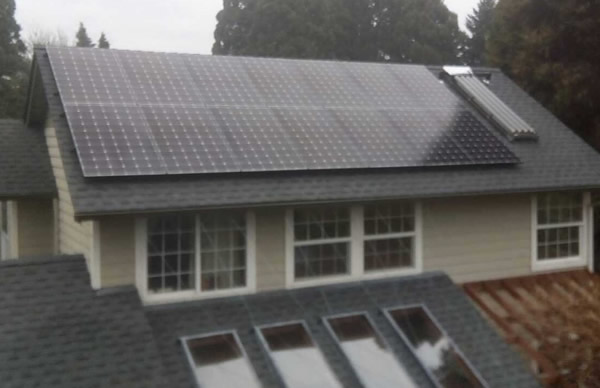 Inverter and Composit Shingle Roof